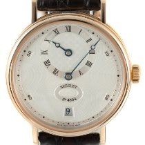Breguet Red gold Automatic Silver 36mm pre-owned Classique