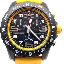 Breitling Plastic Quartz Black Arabic numerals 44mm pre-owned Endurance Pro