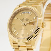 Rolex Day-Date 40 Yellow gold 40mm Champagne Roman numerals United States of America, Georgia, Atlanta