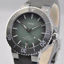 Oris Aquis Date Steel 39.5mm Green No numerals United States of America, Ohio, Mason