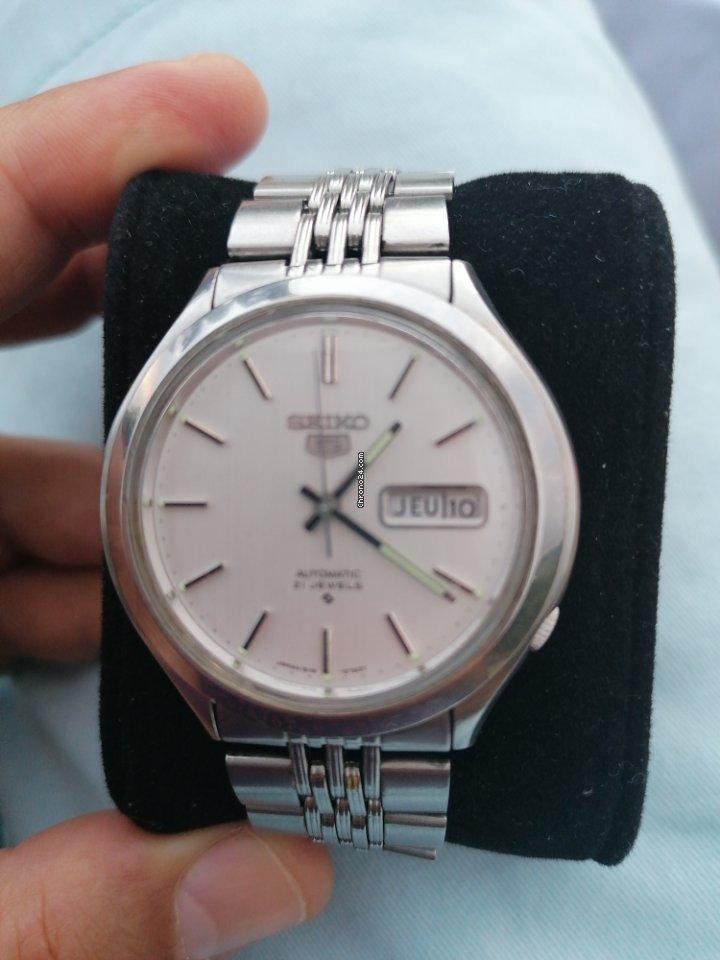 Seiko 5 6119-8600 1975 pre-owned