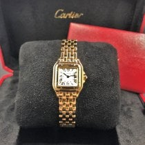 Cartier Panthère Yellow gold 22mm Silver Roman numerals United States of America, Illinois, Springfield