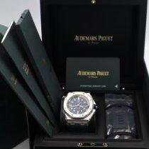 Audemars Piguet Royal Oak Offshore Diver Сталь 42mm Синий Без цифр