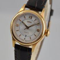 Oris女士手表经典28.5mm自动新手表原装盒和原纸2021