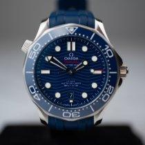 Omega Seamaster Diver 300 M Steel 42mm Blue No numerals Australia