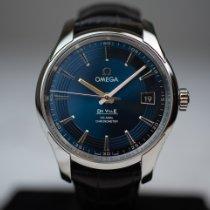 Omega De Ville Hour Vision Steel 41mm Blue No numerals Australia