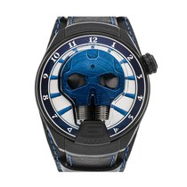 HYT pre-owned Manual winding 51mm Blue 5 ATM