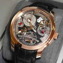 Greubel Forsey Double Tourbillon 30° Rose gold 47.5mm Transparent United States of America, New York, New York