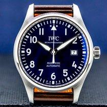 IWC Pilot Mark Steel 40mm Arabic numerals United States of America, Massachusetts, Boston
