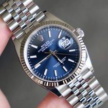 Rolex Datejust Steel 36mm Blue No numerals