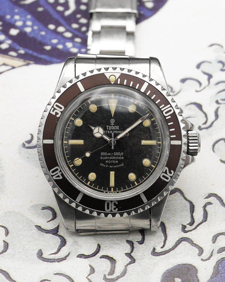 Tudor Submariner 7928 1964 pre-owned