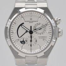 Vacheron Constantin Overseas Dual Time Steel 42mm Silver No numerals