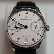 IWC Portuguese Automatic Сталь 42mm Белый Aрабские