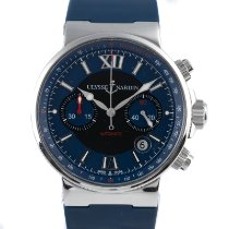 Ulysse Nardin Steel Automatic 40.5mm pre-owned Marine Chronograph