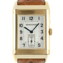 Jaeger-LeCoultre Reverso Duoface Yellow gold 36.5mm Silver