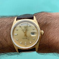 Rolex Day-Date 36 Yellow gold 36mm Gold No numerals Thailand, Koh Samui