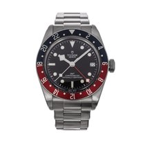 Tudor Black Bay GMT pre-owned 41mm Date GMT