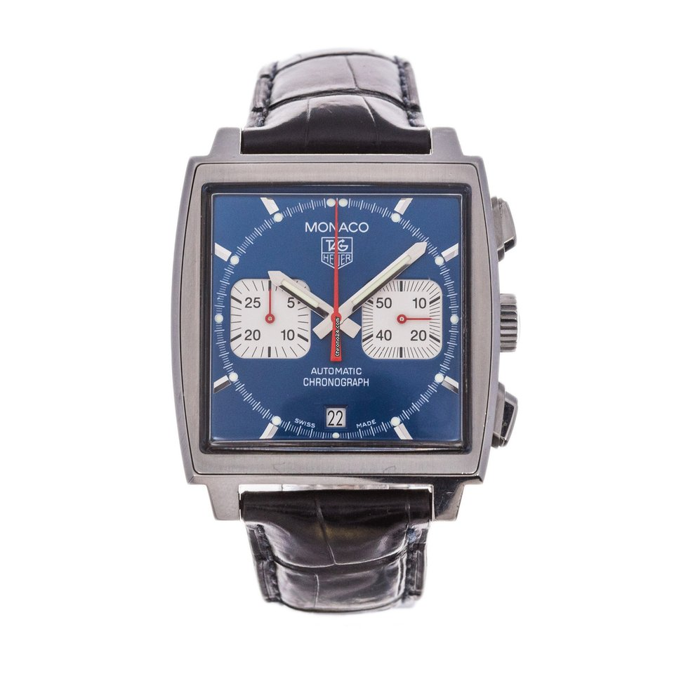 TAG Heuer Monaco CW2113-0 pre-owned