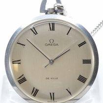 Omega De Ville Steel 44mm Silver Roman numerals