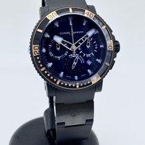 Ulysse Nardin Diver Black Sea новые 2021 Автоподзавод Хронограф Часы с оригинальными документами и коробкой 353-90