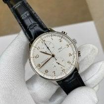 IWC Portuguese Chronograph Acier 41.5mm Argent Arabes Belgique, Antwerp