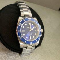 Seiko Marinemaster Steel 40mm Blue No numerals