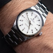 Rolex Oyster Perpetual 34 Steel 34mm White No numerals United States of America, Florida, Miami
