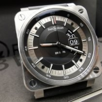Bell & Ross Acier 42mm Remontage automatique BR0396-SI-ST occasion