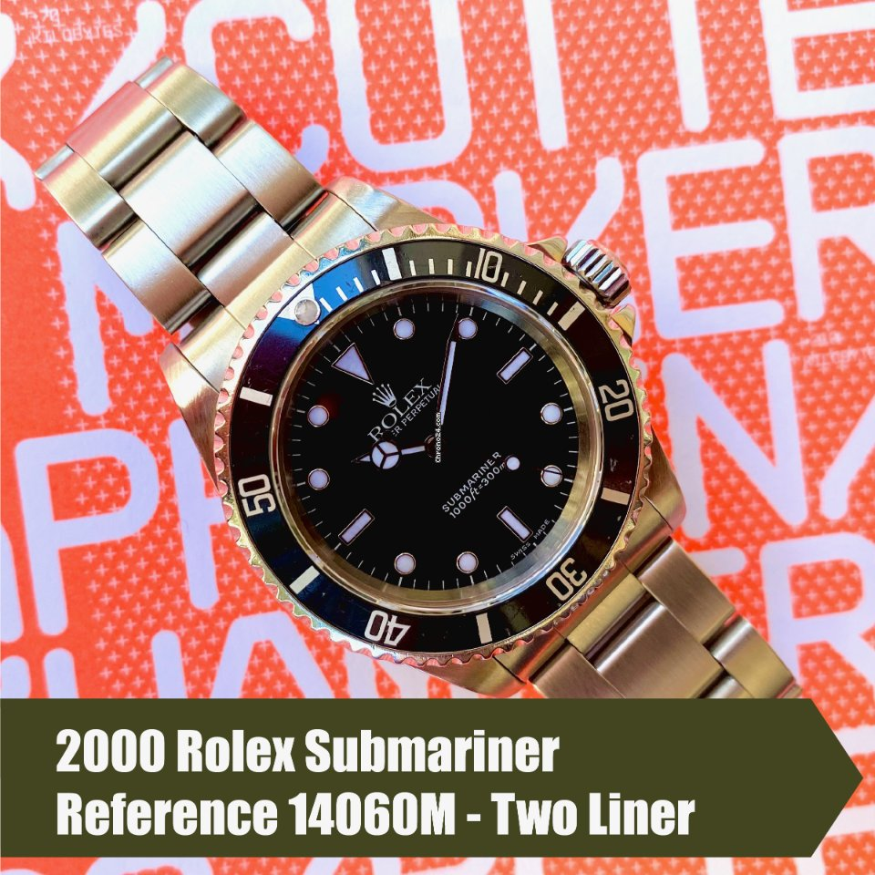 Rolex Submariner (No Date) 14060M 2000 pre-owned
