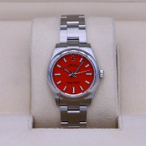 Rolex Oyster Perpetual 31 Steel 31mm Red No numerals United States of America, Tennesse, Nashville