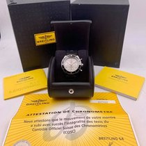 Breitling Superocean Heritage Chronograph Steel Silver United States of America, New York, New York