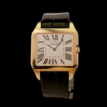 Cartier Santos Dumont 2650 Odlično Ruzicasto zlato 34,8mm Rucno navijanje