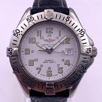 Breitling Colt Quartz Steel 38mm White Arabic numerals United States of America, New York, New York