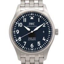 IWC 스틸 40mm 자동 IW327015 중고시계