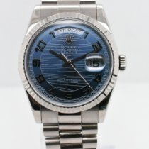 Rolex 118239 White gold 2001 Day-Date 36 36mm pre-owned United States of America, New York, New York