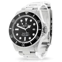 Rolex Sea-Dweller 4000 Steel 40mm Black No numerals United Kingdom, London