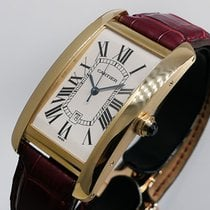 Cartier Tank Américaine Rose gold 45.1mm Silver Roman numerals United States of America, California, Los Angeles