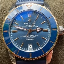 Breitling Superocean Heritage 42 Gold/Steel 42mm Blue No numerals United States of America, New York, BROOKLYN
