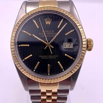 Rolex 16013 Gold/Steel 1986 Datejust 36mm pre-owned United States of America, New York, New York