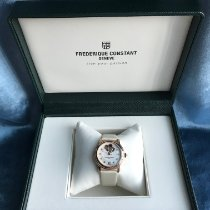 Frederique Constant Ladies Automatic World Heart Federation Steel 34mm Mother of pearl