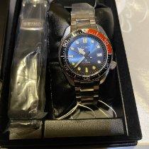 Seiko Prospex Steel 44mm Blue No numerals
