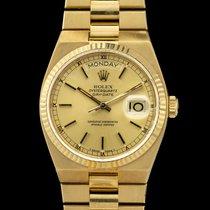 Rolex Day-Date Oysterquartz Gelbgold 36mm Gold Keine Ziffern