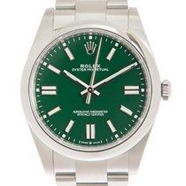 Rolex Oyster Perpetual nuevo Automático Reloj con estuche y documentos originales 124300