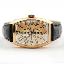 Franck Muller Master Banker 5850 MB Very good Yellow gold 32mm Automatic