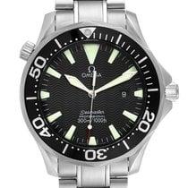 Omega Seamaster Diver 300 M Steel 41mm Black No numerals Singapore