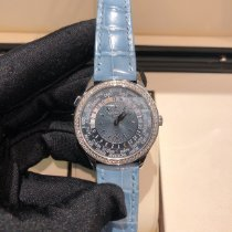 Patek Philippe World Time White gold 36mm Blue Arabic numerals