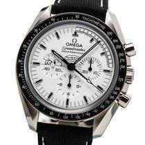 Omega Speedmaster Professional Moonwatch Stahl 42mm Weiß Keine Ziffern Deutschland, München