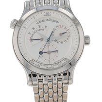Jaeger-LeCoultre Master Geographic Steel 38mm Silver United States of America, New Hampshire, Nashua