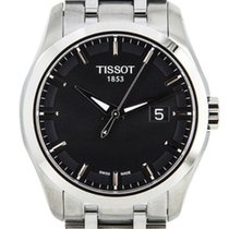 Tissot Couturier neu 2020 Quarz Uhr mit Original-Box und Original-Papieren T035.410.11.051.00