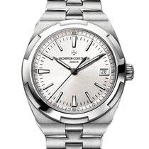 Vacheron Constantin Overseas Steel 41mm Silver No numerals